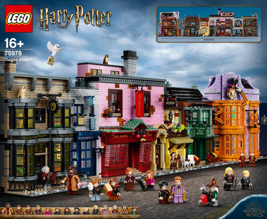 LEGO Harry Potter 75978 Diagon Alley 19