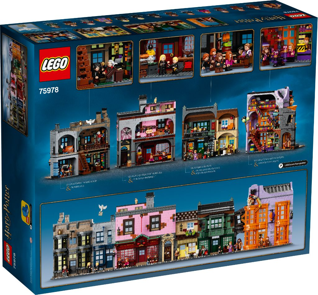 LEGO Harry Potter 75978 Diagon Alley 24