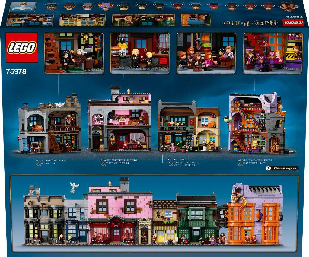 LEGO Harry Potter 75978 Diagon Alley 26