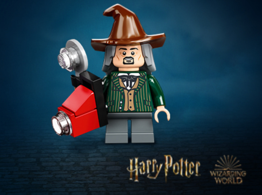 LEGO Harry Potter 75978 Diagon Alley Daily Prophet Photographer