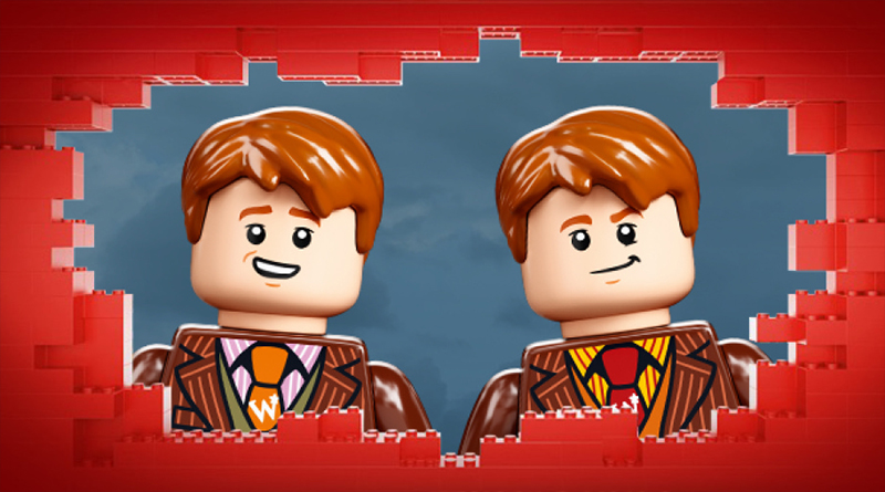 LEGO Harry Potter 75978 Diagon Alley Daily Twins Featured