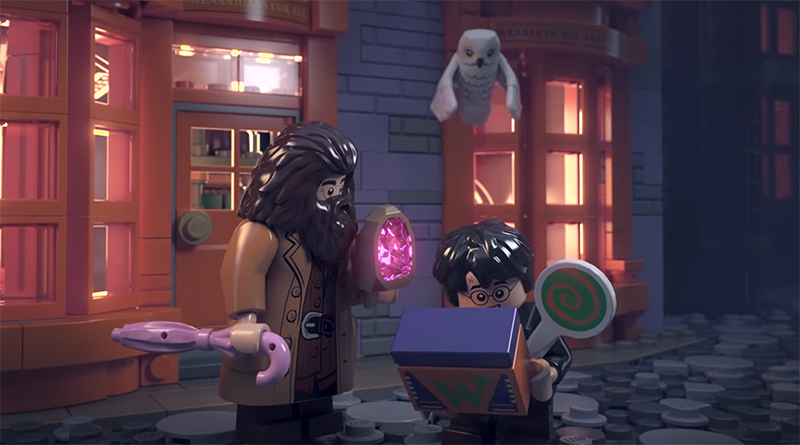 LEGO Harry Potter 75978 Diagon Alley Animation Featured