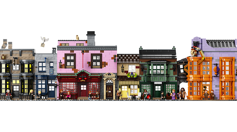 LEGO Harry Potter 75978 Diagon Alley Featured 1
