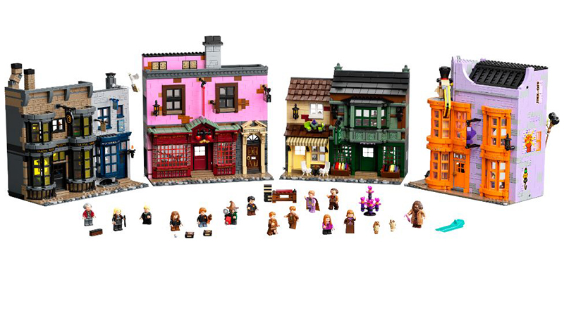 LEGO Harry Potter 75978 Diagon Alley featured 4