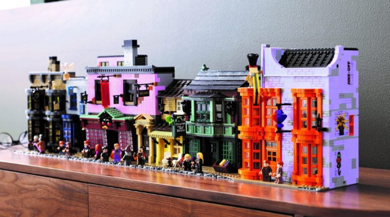 LEGO Harry Potter 75978 Diagon Alley lifestyle resized featured