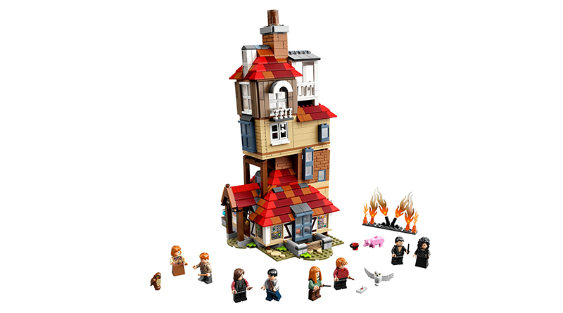 LEGO Harry Potter 75980 Attack On The Burrow Featured