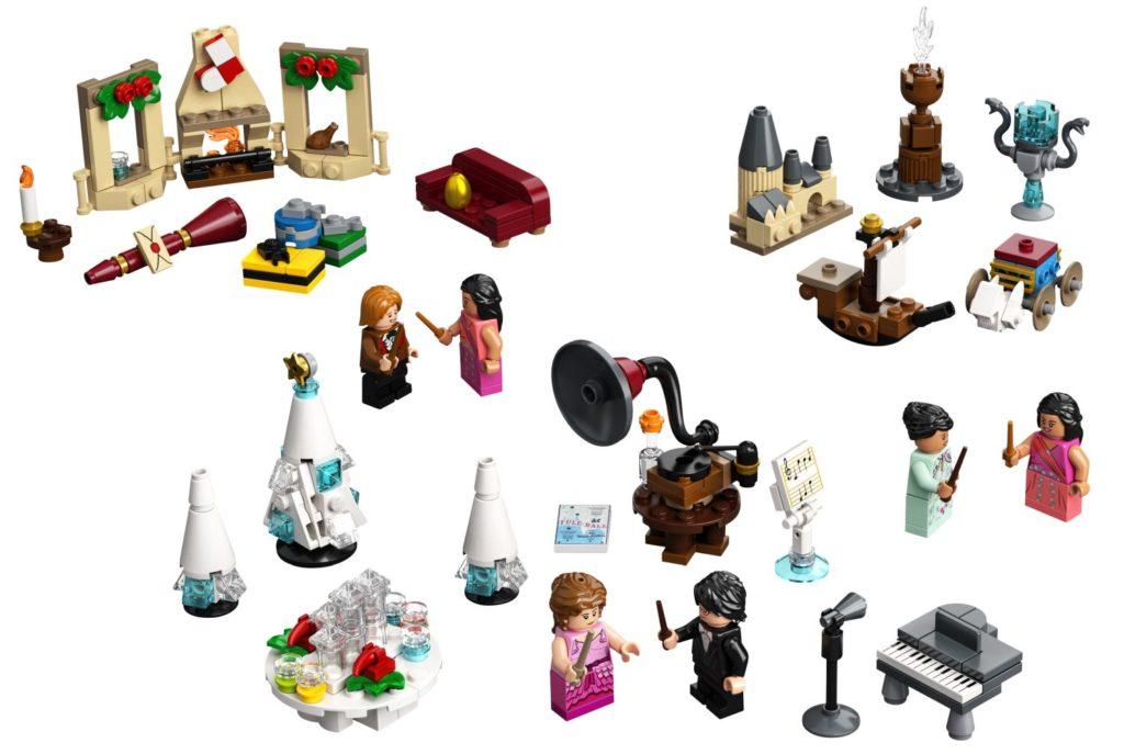 LEGO Harry Potter 75981 Advent Calendar 3