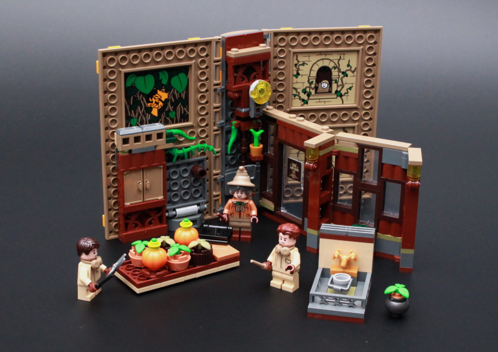 LEGO Harry Potter 76384 Hogwarts Moment Herbology Class Review 1