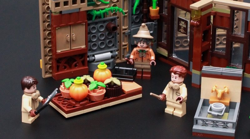 LEGO Harry Potter 76384 Hogwarts Moment Herbology Class Review Featured 800x445
