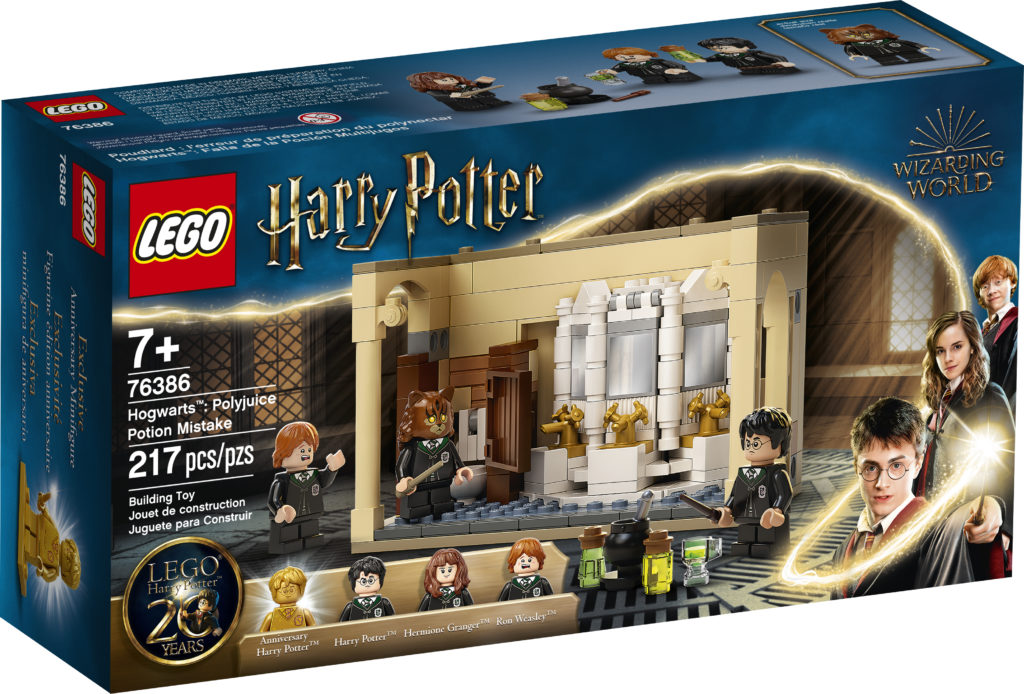 LEGO Harry Potter 76386 Hogwarts Polyjuice Potion Mistake 1