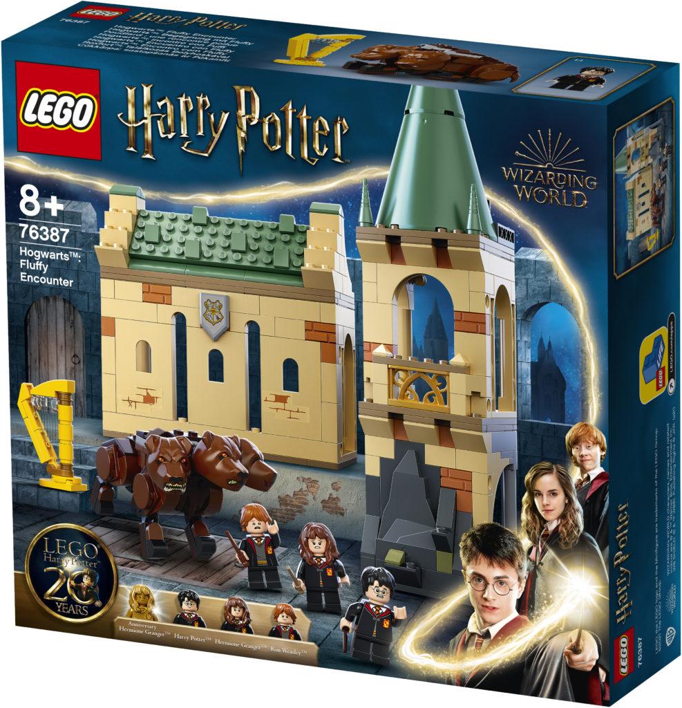 LEGO Harry Potter 76387 Hogwarts Fluffy Encounter 1