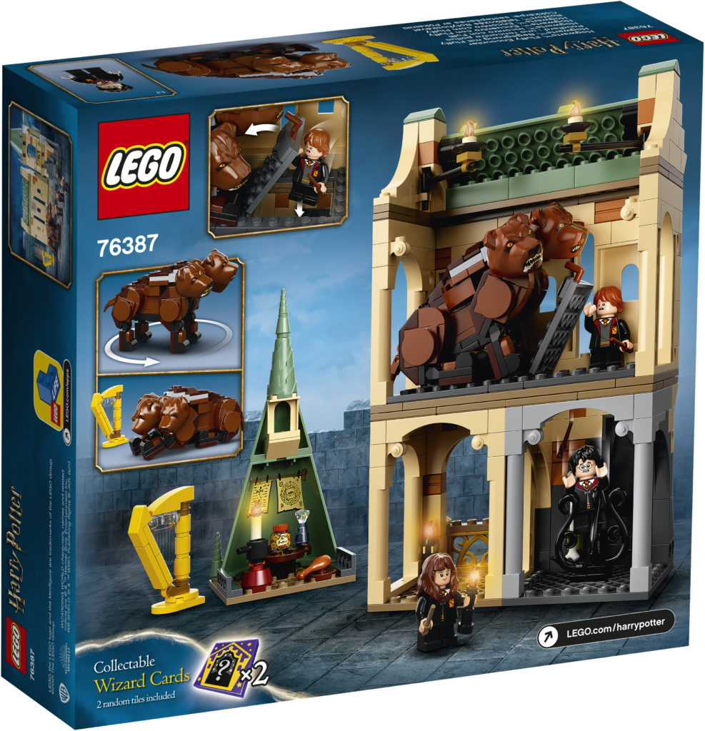 LEGO Harry Potter 76387 Hogwarts Fluffy Encounter 2