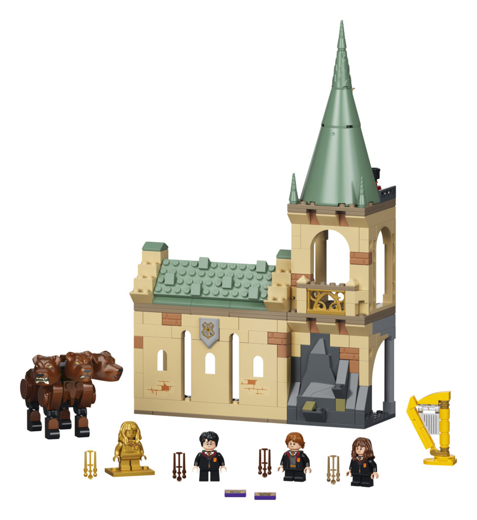 LEGO Harry Potter 76387 Hogwarts Fluffy Encounter 5