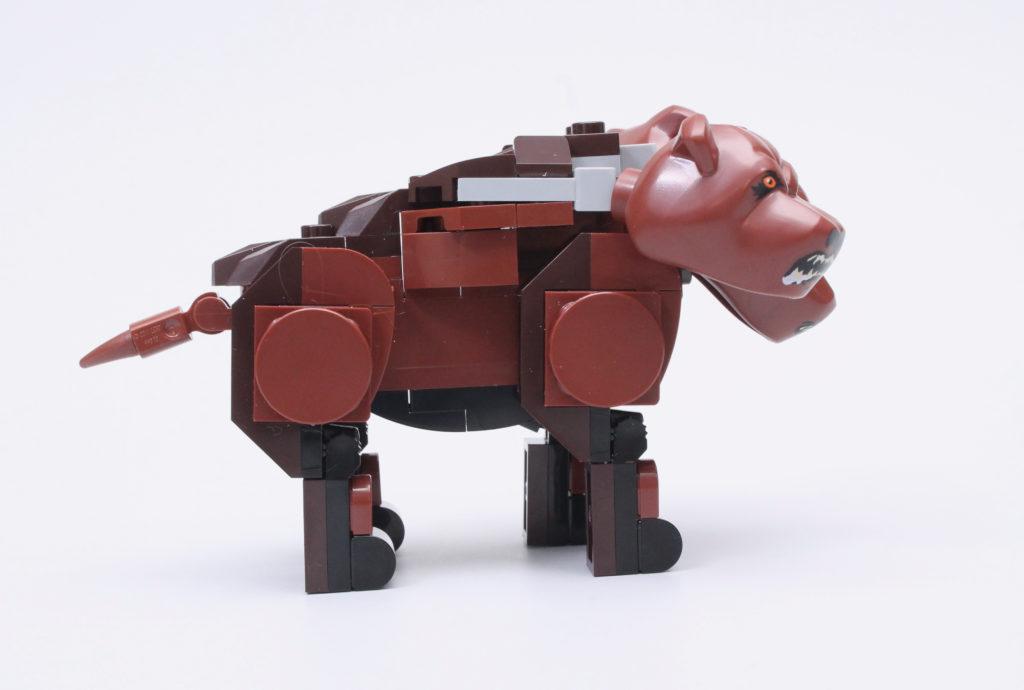 LEGO Harry Potter 76387 Hogwarts Fluffy Encounter review 15