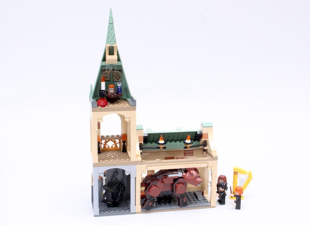 LEGO Harry Potter 76387 Hogwarts Fluffy Encounter review 2