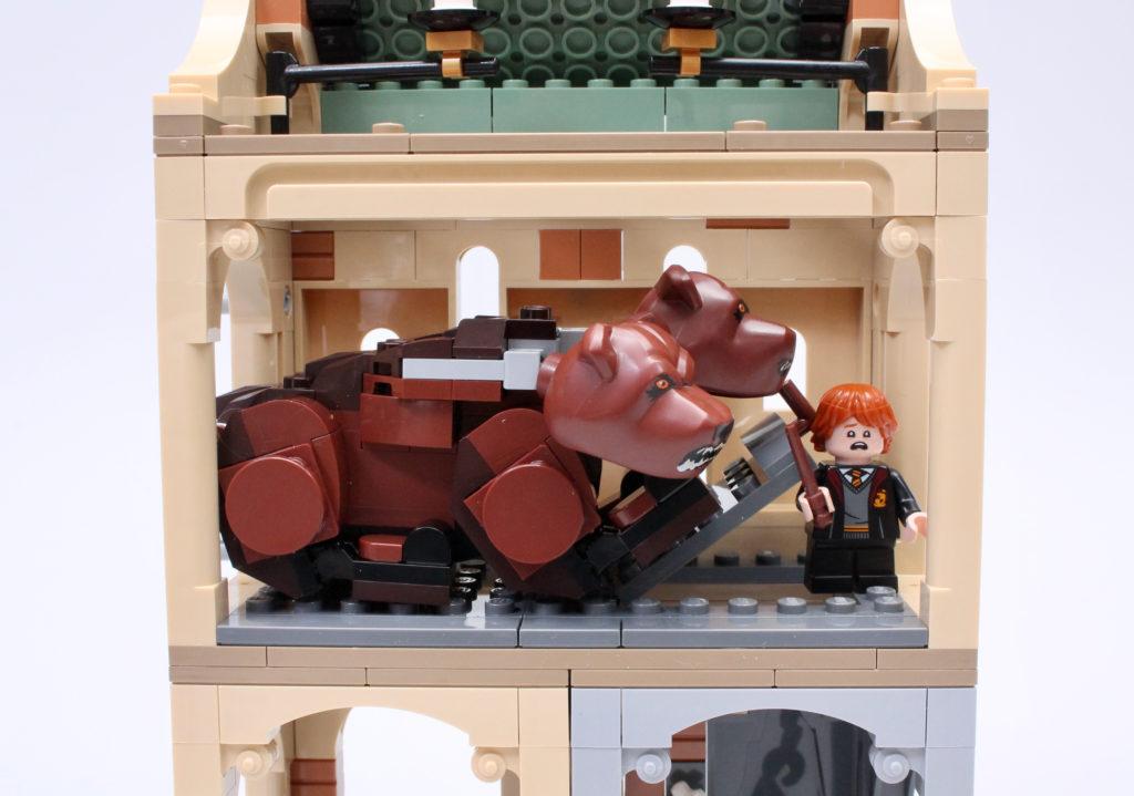 LEGO Harry Potter 76387 Hogwarts Fluffy Encounter review 21
