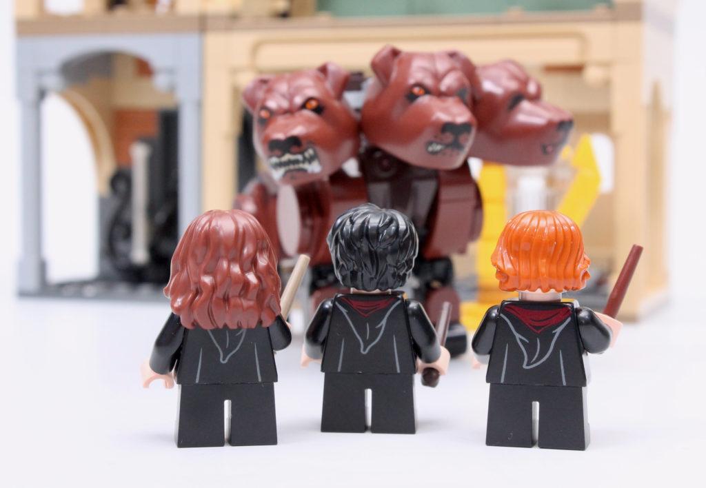 LEGO Harry Potter 76387 Hogwarts Fluffy Encounter review 28