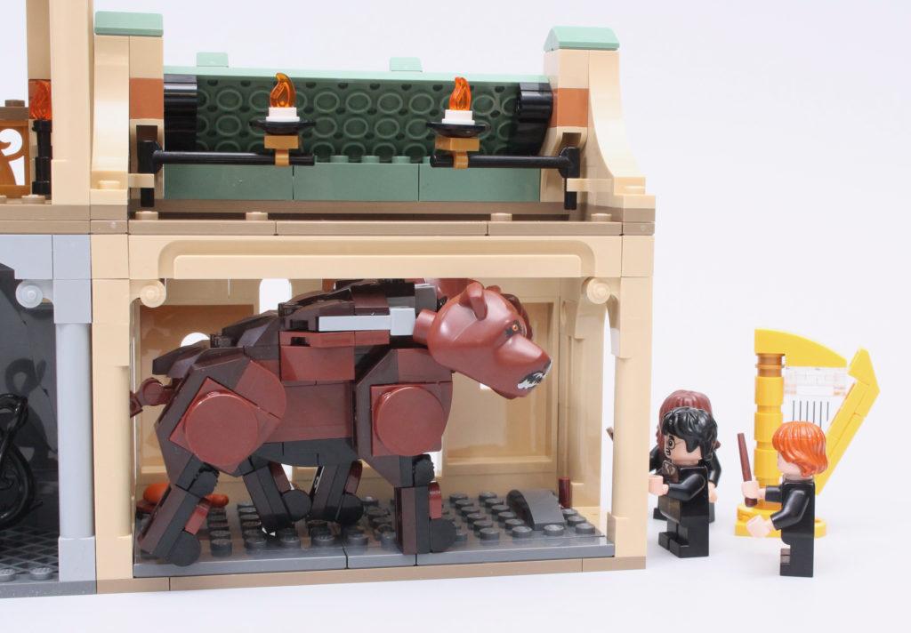 LEGO Harry Potter 76387 Hogwarts Fluffy Encounter review 4