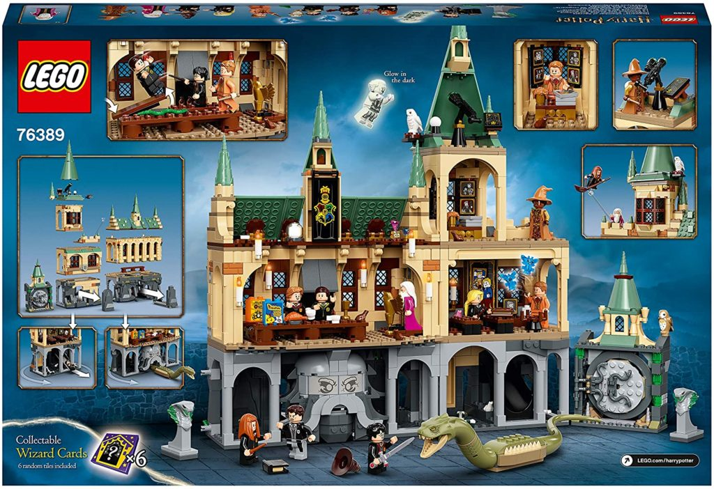 LEGO Harry Potter 763889 Hogwarts Chamber Of Secrets First Look 4