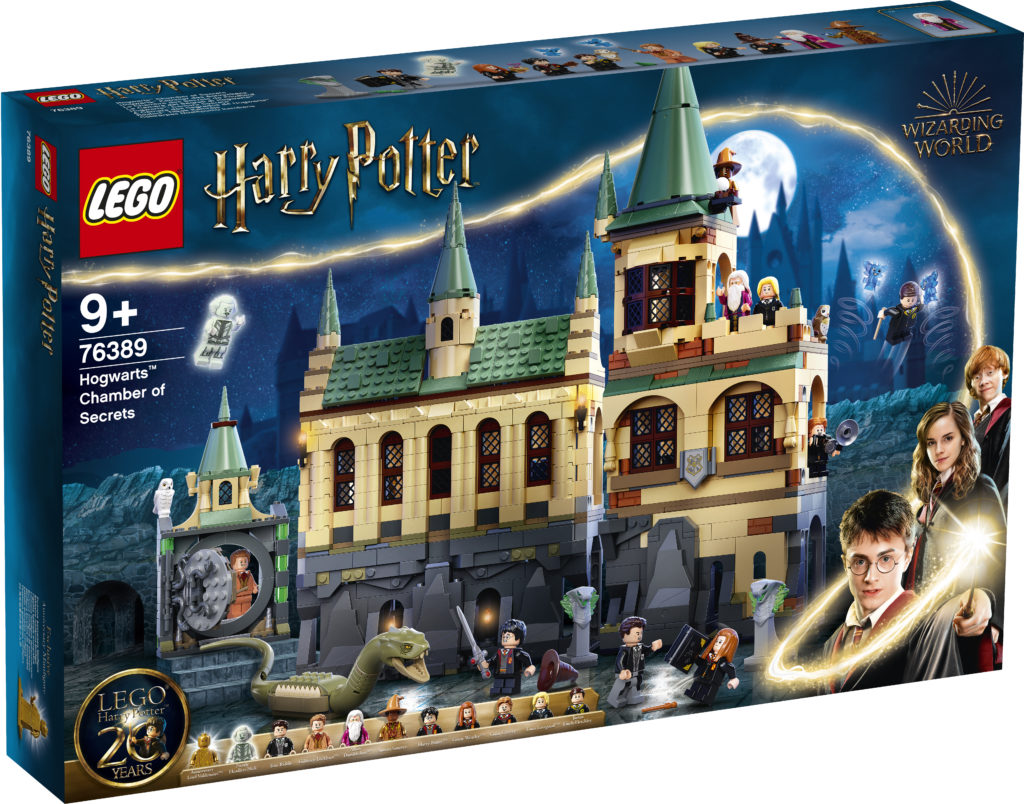 LEGO Harry Potter 76389 Hogwarts Chamber Of Secrets 1