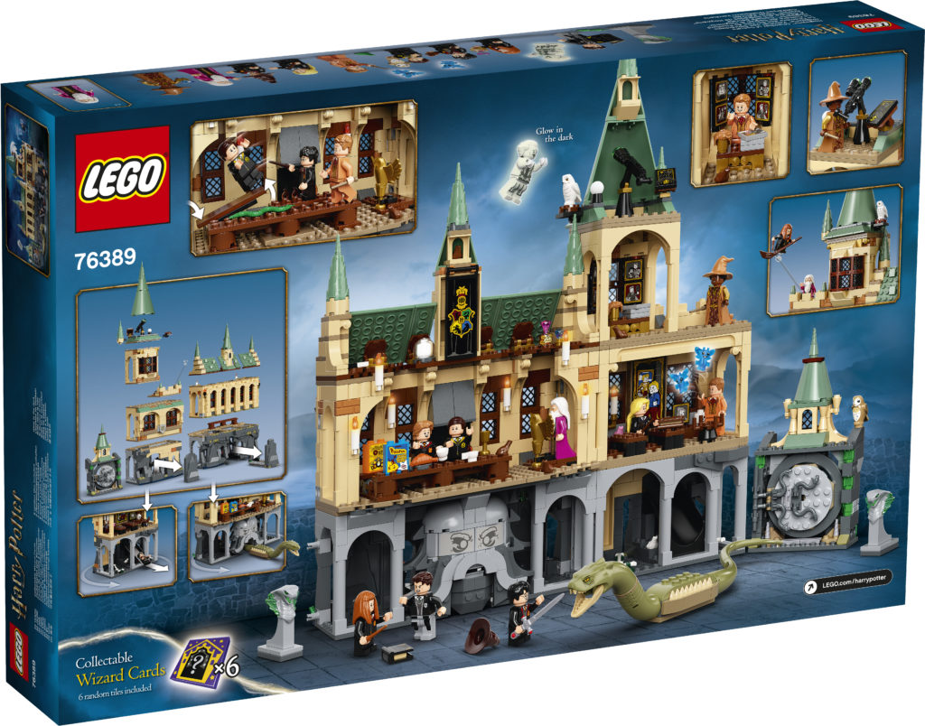 LEGO Harry Potter 76389 Hogwarts Chamber Of Secrets 2