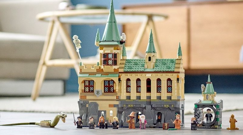 LEGO Harry Potter 76389 Hogwarts Chamber of Secrets featured