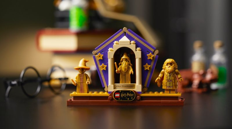 LEGO Harry Potter 76391 Hogwarts Icons Collectors Edition featured minifigures