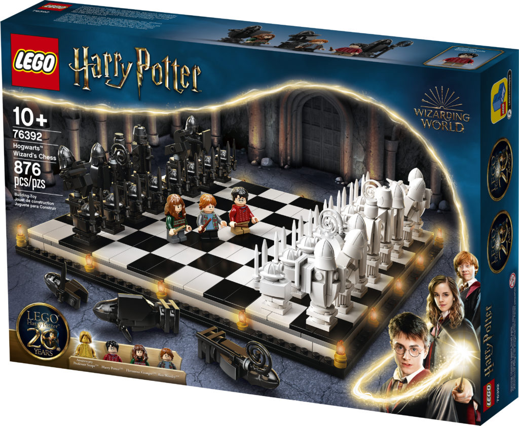 LEGO Harry Potter 76392 Hogwarts Wizards Chess 1