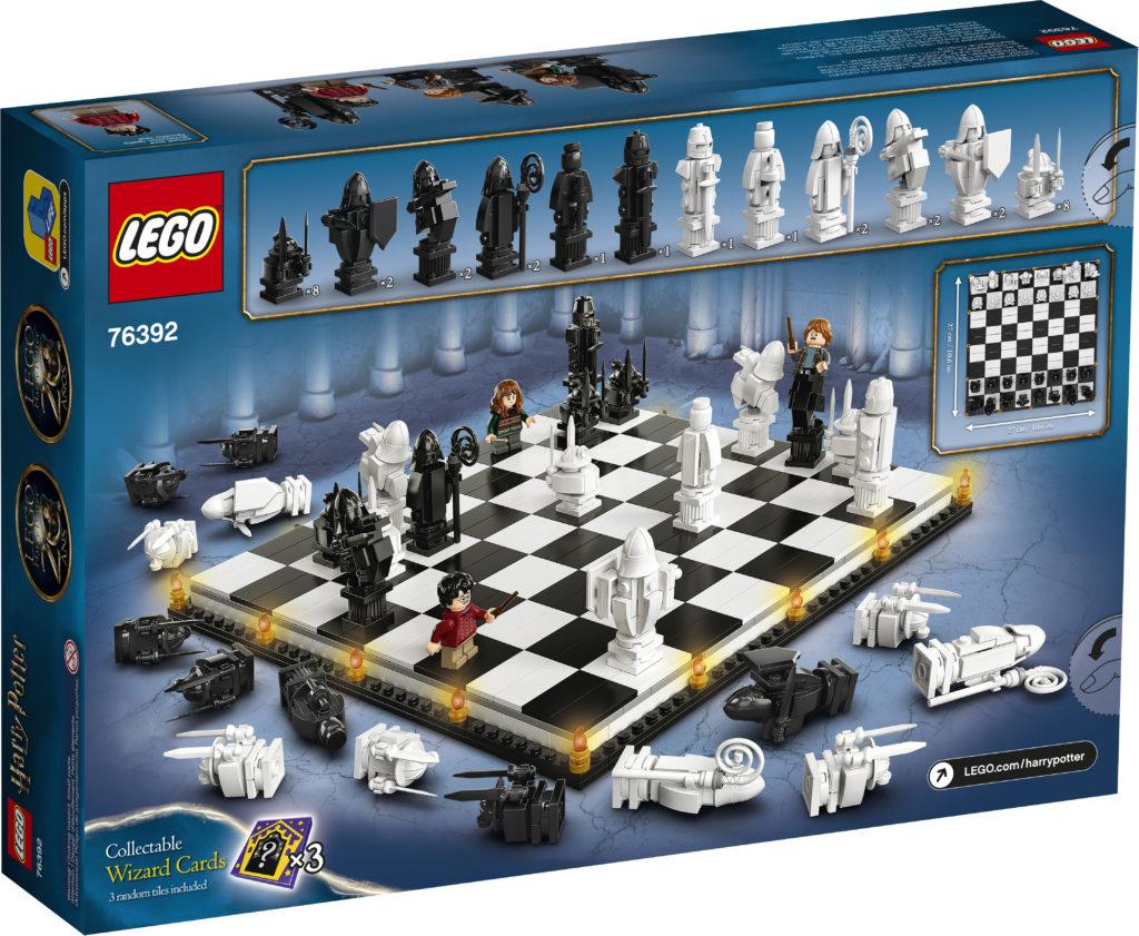 LEGO Harry Potter 76392 Hogwarts Wizards Chess 2