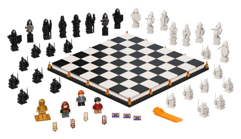 LEGO Harry Potter 76392 Hogwarts Wizards Chess 5