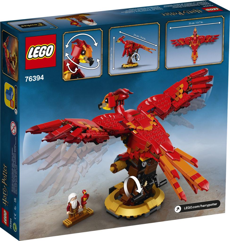 LEGO Harry Potter 76394 Fawkes Dumbledores Phoenix 2