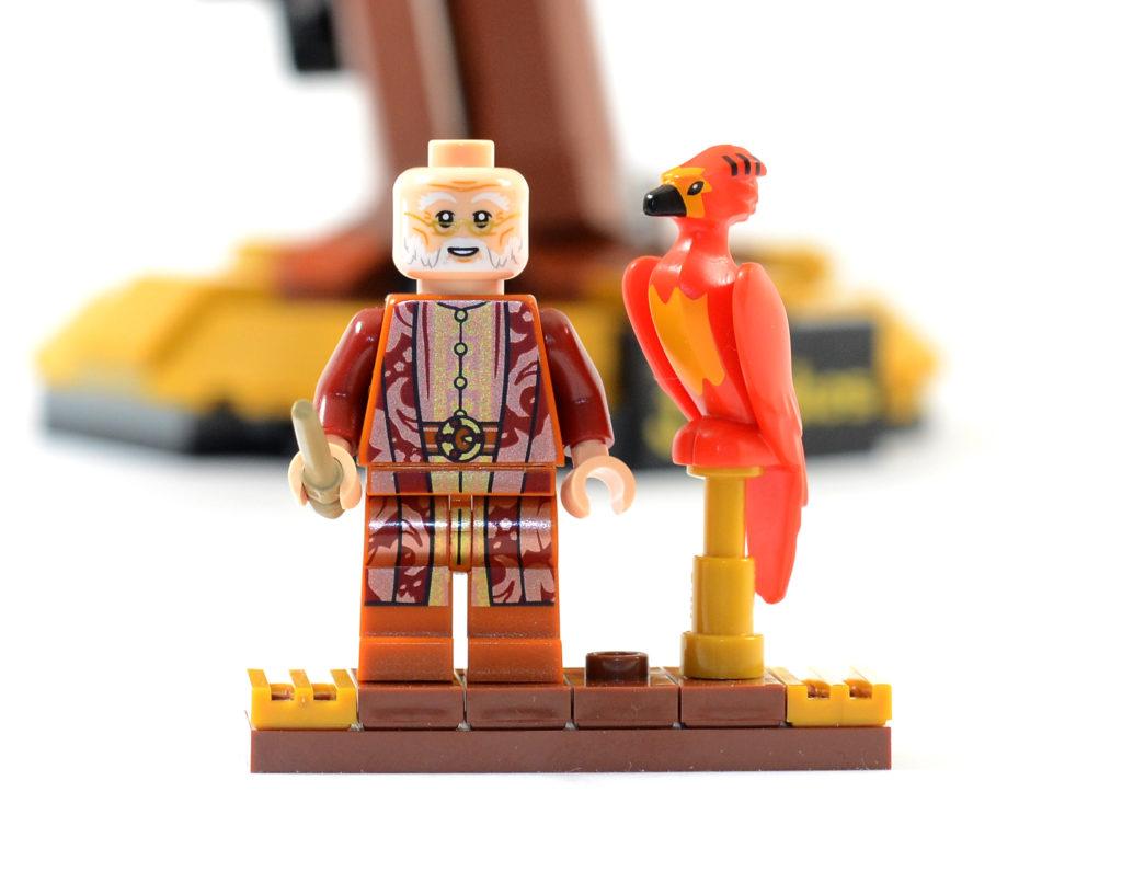 LEGO Harry Potter 76394 Fawkes Dumbledores Phoenix review 12