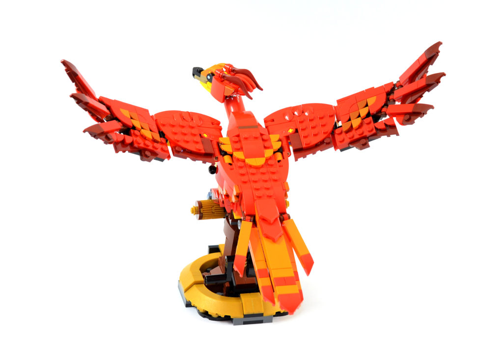 LEGO Harry Potter 76394 Fawkes Dumbledores Phoenix review 8
