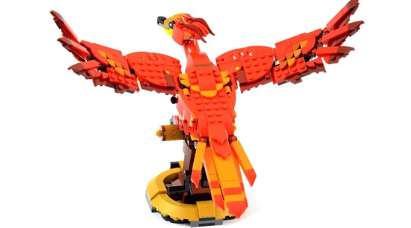 LEGO Harry Potter 76394 Fawkes Dumbledores Phoenix review featured