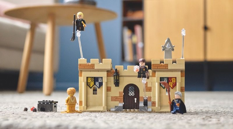LEGO Harry Potter 76395 Hogwarts First Flying Lesson featured