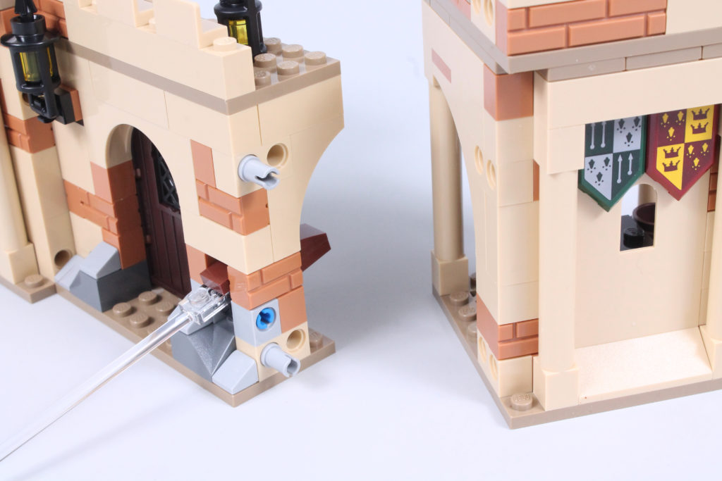 LEGO Harry Potter 76395 Hogwarts First Flying Lesson review 11