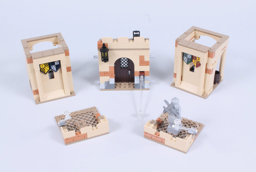 LEGO Harry Potter 76395 Hogwarts First Flying Lesson review 12