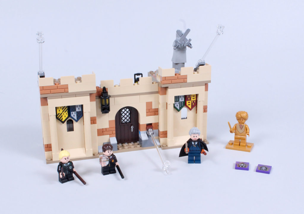 LEGO Harry Potter 76395 Hogwarts First Flying Lesson review 2
