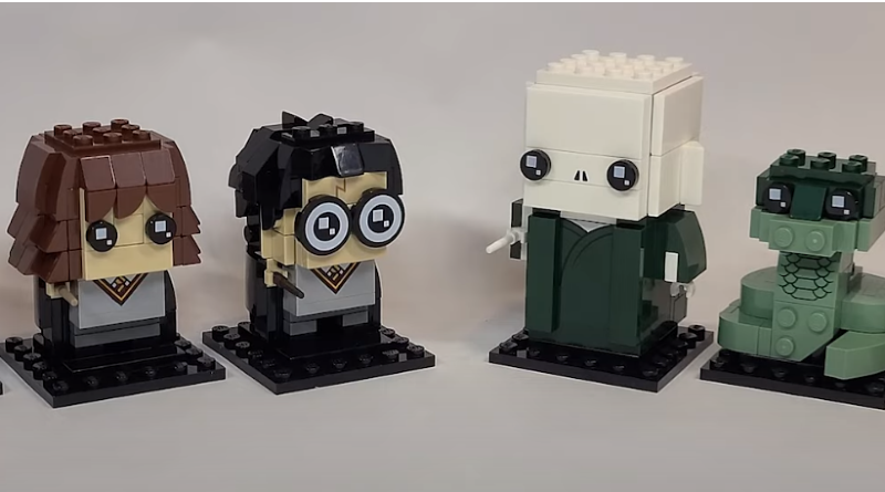 LEGO Harry Potter Brickheadz 40495 40496 First Look Reveal Featured