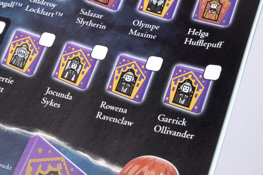 LEGO Harry Potter Collectible Wizard Cards 6