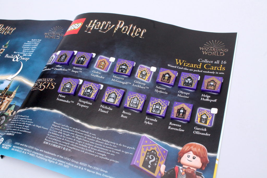 LEGO Harry Potter Collectible Wizard Cards 8 1