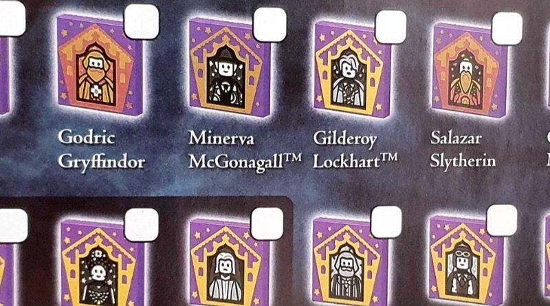 LEGO Harry Potter Collectible Wizard Cards checklist featured