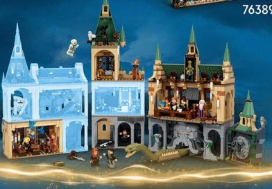The LEGO Harry Potter Hogwarts 2021 sets won't be compatible with previous castle sections
