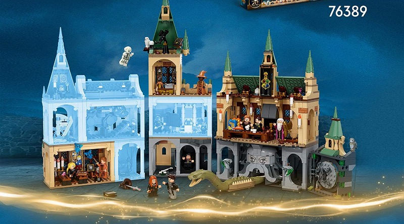 LEGO Harry Potter Hogwarts Modular 2021 FEATURED