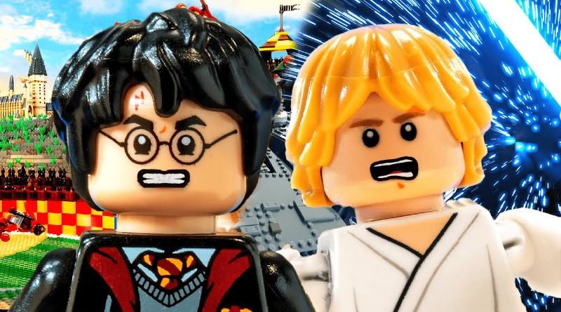 LEGO Harry Potter Luke Skywalker Epic Rap Battle Of History Featured
