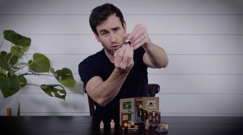 LEGO Harry Potter Matthew Lewis featured