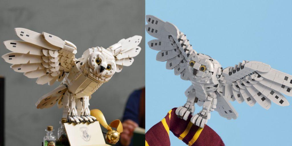 LEGO Harry Potter Rebuild the World Hedwig ပိုစတာနှိုင်းယှဉ်ချက်