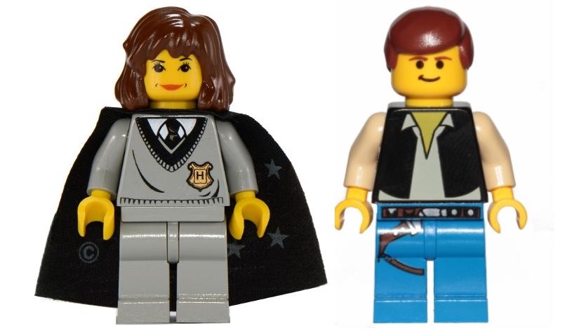 Lego ဟယ်ရီပေါ်တာ Star Wars Hermione Granger Han တစ်ကိုယ်တော် classic သေးသေးလေး