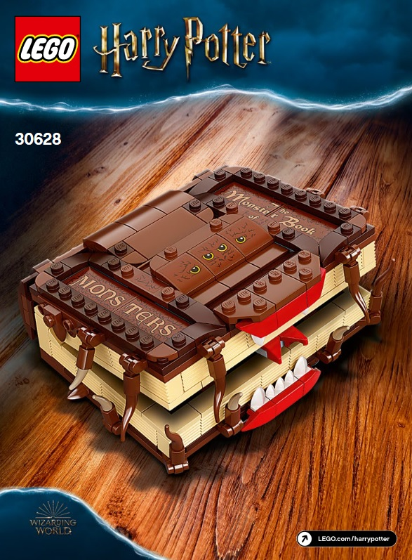 LEGO Harry Potter The Monster Book Of Monsters 30628 8