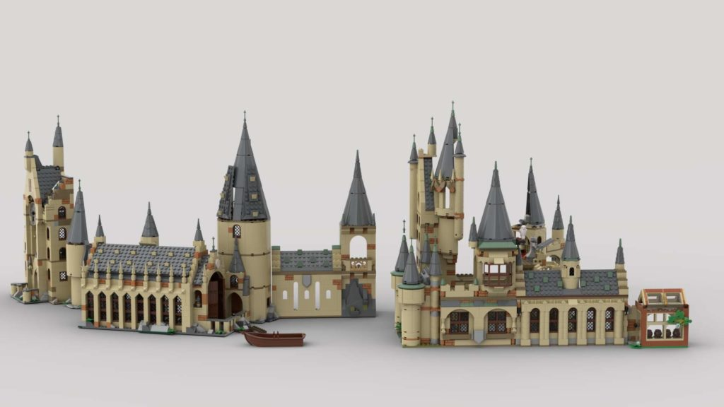 LEGO Harry Potter Combining Hogwarts Sets Eurobricks 1 1